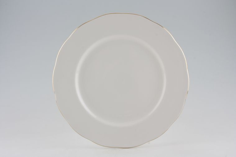 Colclough - White and Gold - Dinner Plate