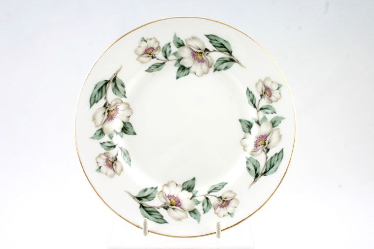 Crown Staffordshire - Christmas Roses - Plain Edge - Tea / Side / Bread & Butter Plate