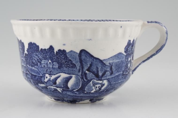 Adams - English Scenic - Blue - Old Backstamp - Teacup