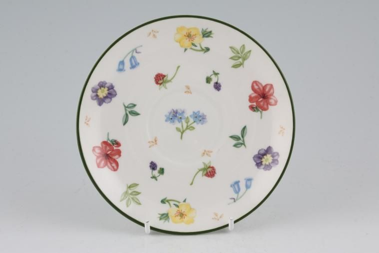 Johnson Brothers - Diamond Flowers - Tea Saucer