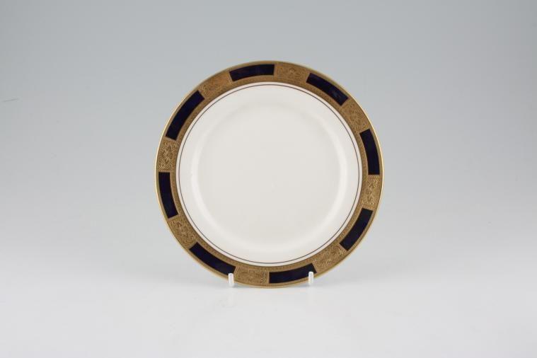 Aynsley - Empress - Cobalt - Smooth Rim - Tea / Side / Bread & Butter Plate