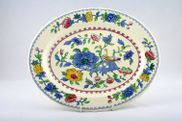 Masons - Regency - Oval Plate / Platter - 11""