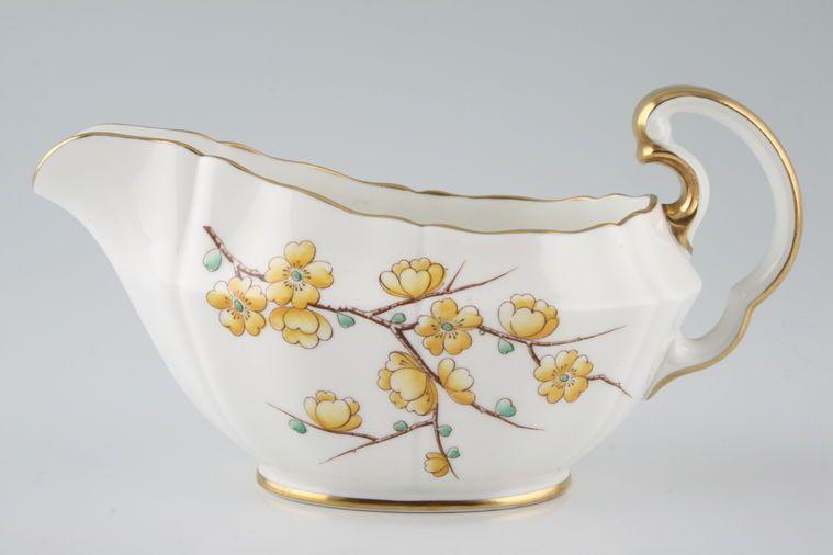 Adderley + Royal Adderley - Chinese Blossom - Yellow - Sauce Boat