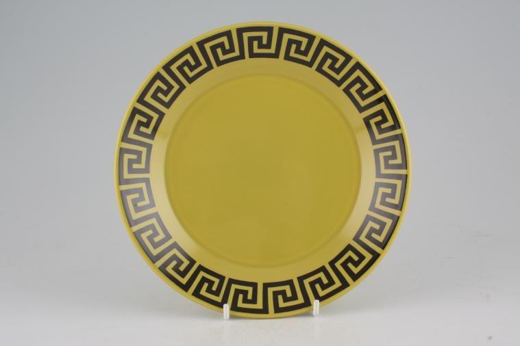 Portmeirion - Greek Key - Lime + Black - Tea / Side / Bread & Butter Plate