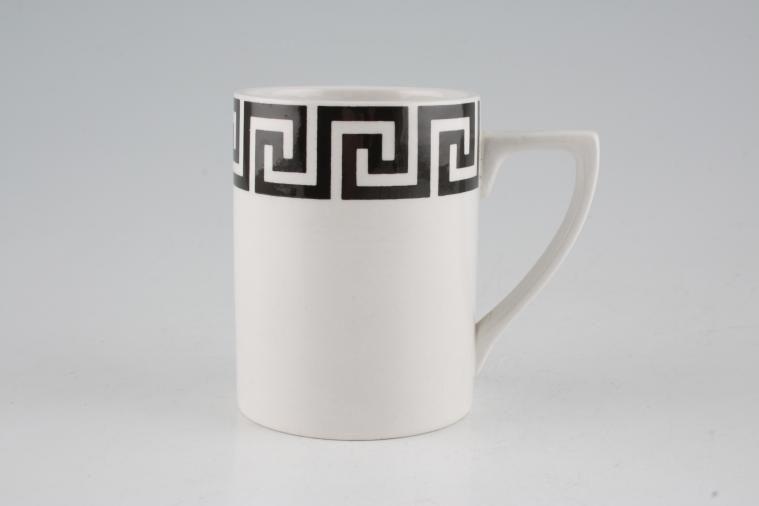 Portmeirion - Greek Key - White + Black - Coffee/Espresso Can