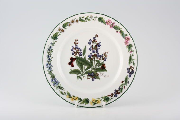 Royal Worcester - Worcester Herbs - Starter / Salad / Dessert Plate - Made in England
