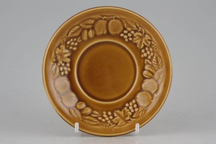 Royal Worcester - Orchard - Gold - Soup Cup Saucer