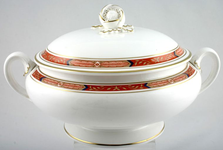 Royal Worcester - Beaufort - Rust - Vegetable Tureen with Lid
