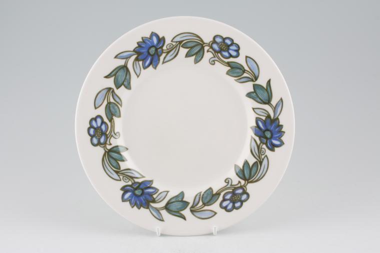 no obligation search for susie cooper art nouveau blue starter salad dessert plate. Black Bedroom Furniture Sets. Home Design Ideas