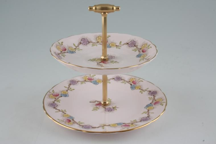 Various - Cake Stands - Mini Stands - Mini Stand - 22M - approx. height 6 1/2
