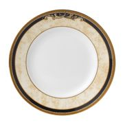 "Wedgwood - Cornucopia - Tea / Side / Bread & Butter Plate - 6"" - Beige with blue rim"
