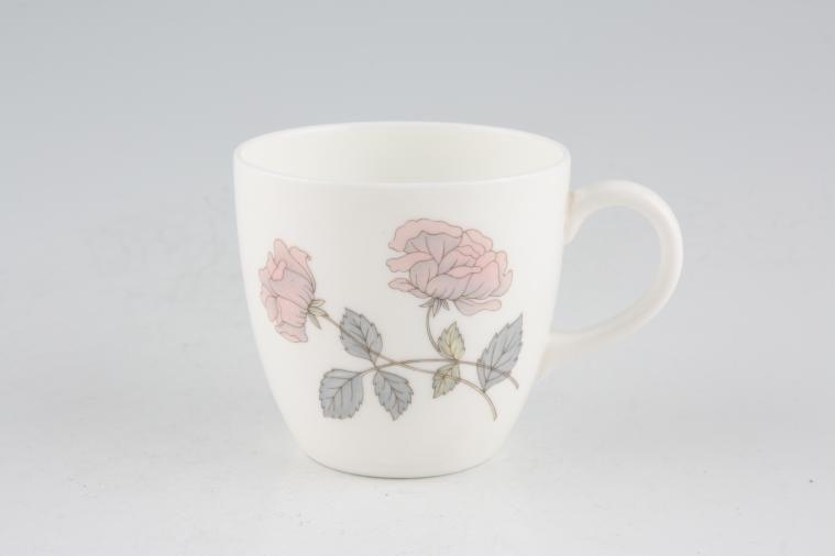 Wedgwood - Flame Rose - Coffee Cup